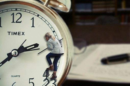 Tijdsdruk als stok achter de deur